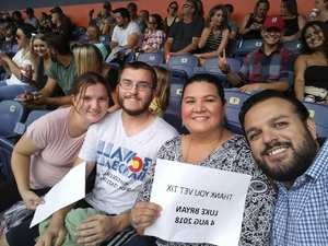 Christin attended Luke Bryan: What Makes You Country Tour 2018 - Country on Aug 4th 2018 via VetTix