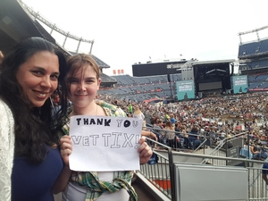 James attended Luke Bryan: What Makes You Country Tour 2018 - Country on Aug 4th 2018 via VetTix