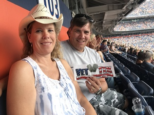 Randy attended Luke Bryan: What Makes You Country Tour 2018 - Country on Aug 4th 2018 via VetTix