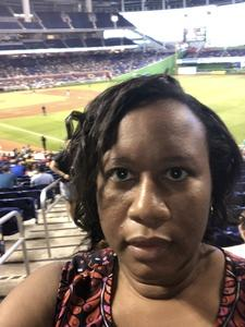 Kimberly attended Miami Marlins vs. Atlanta Braves - MLB on Aug 26th 2018 via VetTix