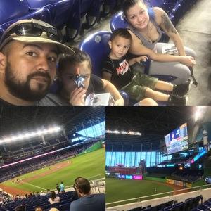 Paolo attended Miami Marlins vs. Atlanta Braves - MLB on Aug 26th 2018 via VetTix