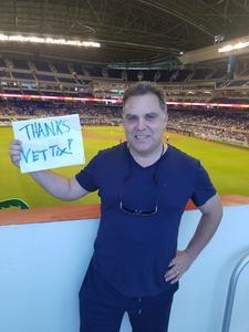 Richard attended Miami Marlins vs. Atlanta Braves - MLB on Aug 26th 2018 via VetTix