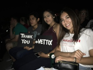 Monica attended Weezer / Pixies on Aug 11th 2018 via VetTix