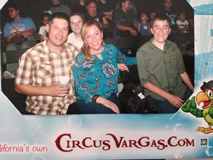 Shanna attended Circus Vargas: The Big One is Back *See Special Instructions on Aug 16th 2018 via VetTix