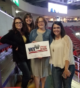 Tricia attended Sugarland Still the Same 2018 Tour on Aug 11th 2018 via VetTix