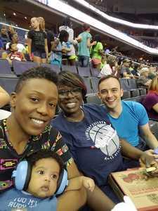 Nicole attended Washington Mystics vs. Seattle Storm - WNBA on Aug 9th 2018 via VetTix
