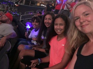 Curtis & Heather attended Washington Mystics vs. Seattle Storm - WNBA on Aug 9th 2018 via VetTix