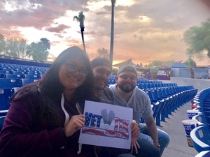 Vazquez Fam attended Weezer / Pixies - Alternative Rock on Aug 12th 2018 via VetTix