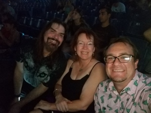 Patrick attended Weezer / Pixies - Alternative Rock on Aug 12th 2018 via VetTix