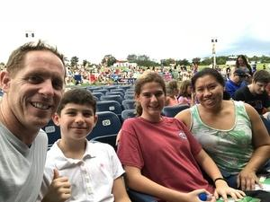 Christopher attended Pentatonix - Pop on Aug 11th 2018 via VetTix