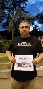 Alvin attended Keith Urban: Graffiti U World Tour - Country on Aug 11th 2018 via VetTix