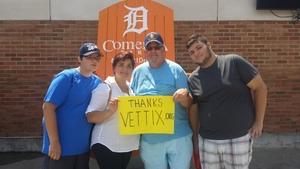 Bruce attended Detroit Tigers vs. Minnesota Twins - MLB on Aug 12th 2018 via VetTix