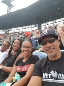 Daniel attended Detroit Tigers vs. Minnesota Twins - MLB on Aug 12th 2018 via VetTix