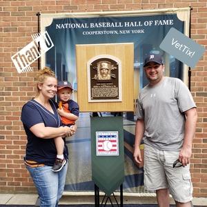 Bradley attended Detroit Tigers vs. Minnesota Twins - MLB on Aug 12th 2018 via VetTix