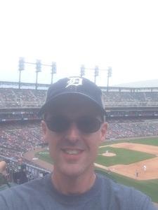 brian attended Detroit Tigers vs. Minnesota Twins - MLB on Aug 12th 2018 via VetTix