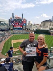 Jason attended Detroit Tigers vs. Minnesota Twins - MLB on Aug 12th 2018 via VetTix