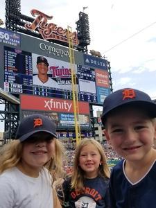 NICHOLAS attended Detroit Tigers vs. Minnesota Twins - MLB on Aug 12th 2018 via VetTix