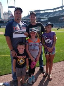 Donald attended Detroit Tigers vs. Minnesota Twins - MLB on Aug 12th 2018 via VetTix