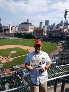 Matthew attended Detroit Tigers vs. Minnesota Twins - MLB on Aug 12th 2018 via VetTix