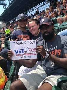 Robert attended Detroit Tigers vs. Minnesota Twins - MLB on Aug 12th 2018 via VetTix