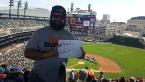 Kevin attended Detroit Tigers vs. Minnesota Twins - MLB on Aug 12th 2018 via VetTix