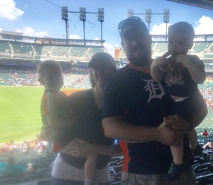 Chelsea S. attended Detroit Tigers vs. Minnesota Twins - MLB on Aug 12th 2018 via VetTix