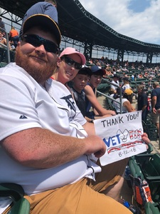 Michael attended Detroit Tigers vs. Minnesota Twins - MLB on Aug 12th 2018 via VetTix