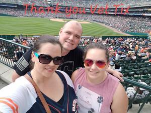 Darryl attended Detroit Tigers vs. Minnesota Twins - MLB on Aug 12th 2018 via VetTix