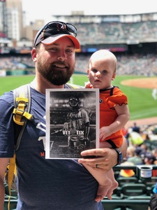 William attended Detroit Tigers vs. Minnesota Twins - MLB on Aug 12th 2018 via VetTix