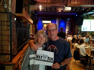 James attended Jeff Daniels and Ben Daniels Band - Acoustically Speakin on Aug 15th 2018 via VetTix