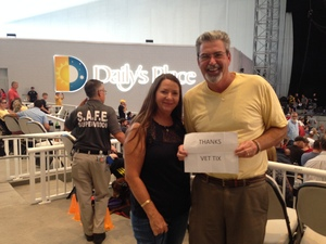 MGySgt James Brander attended Stars Align Tour: Jeff Beck & Paul Rodgers and Ann Wilson of Heart - Pop on Aug 23rd 2018 via VetTix