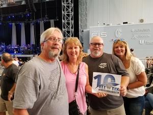 Richard attended Stars Align Tour: Jeff Beck & Paul Rodgers and Ann Wilson of Heart - Pop on Aug 23rd 2018 via VetTix