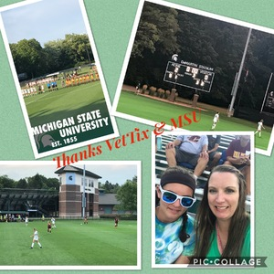 Jean attended Michigan State Spartans vs. Central Michigan Chippewas - NCAA Women's Soccer on Aug 11th 2018 via VetTix