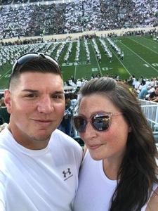 Craig attended Michigan State Spartans vs. Utah State Aggies - NCAA Football on Aug 31st 2018 via VetTix