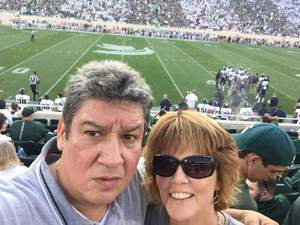 Pat attended Michigan State Spartans vs. Utah State Aggies - NCAA Football on Aug 31st 2018 via VetTix