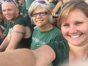 Scott attended Michigan State Spartans vs. Utah State Aggies - NCAA Football on Aug 31st 2018 via VetTix