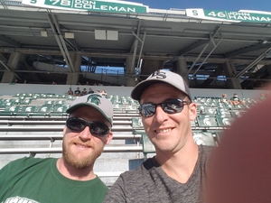 Jason attended Michigan State Spartans vs. Utah State Aggies - NCAA Football on Aug 31st 2018 via VetTix