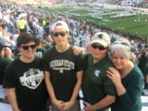 Stephen attended Michigan State Spartans vs. Utah State Aggies - NCAA Football on Aug 31st 2018 via VetTix