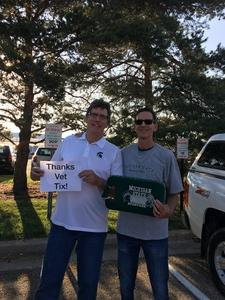 Jill attended Michigan State Spartans vs. Utah State Aggies - NCAA Football on Aug 31st 2018 via VetTix