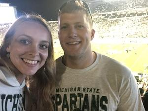 Christopher attended Michigan State Spartans vs. Utah State Aggies - NCAA Football on Aug 31st 2018 via VetTix