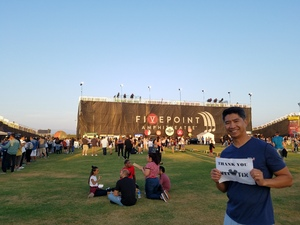 ROMEO attended 2018 Honda Civic Tour Presents Charlie Puth Voicenotes on Aug 15th 2018 via VetTix