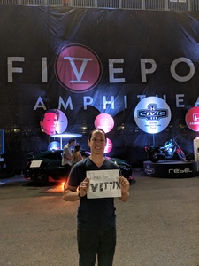 Danny attended 2018 Honda Civic Tour Presents Charlie Puth Voicenotes on Aug 15th 2018 via VetTix