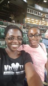Teiana attended Baltimore Orioles vs. Oakland Athletics - MLB on Sep 12th 2018 via VetTix