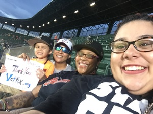 Stephanie attended Baltimore Orioles vs. Oakland Athletics - MLB on Sep 12th 2018 via VetTix