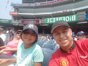 Marco attended New York Yankees vs. Tampa Bay Rays - MLB on Aug 16th 2018 via VetTix