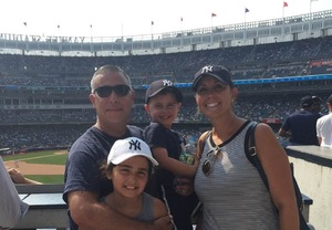 Thomas attended New York Yankees vs. Tampa Bay Rays - MLB on Aug 16th 2018 via VetTix