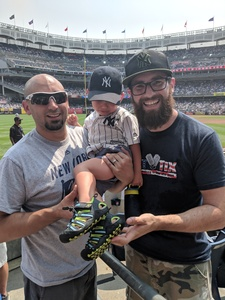 Jason attended New York Yankees vs. Tampa Bay Rays - MLB on Aug 16th 2018 via VetTix