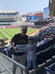 Steven attended New York Yankees vs. Tampa Bay Rays - MLB on Aug 16th 2018 via VetTix