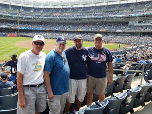 Clayton attended New York Yankees vs. Tampa Bay Rays - MLB on Aug 16th 2018 via VetTix
