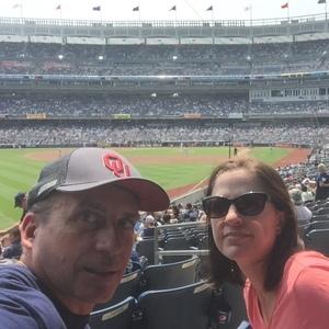 Eric attended New York Yankees vs. Tampa Bay Rays - MLB on Aug 16th 2018 via VetTix